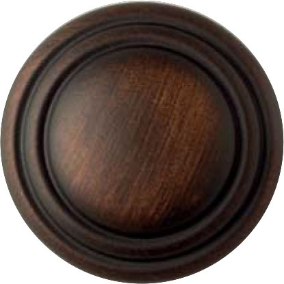 GROOVED DARK ANTIQUE BRONZE